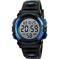 Hanylish Reloj Deportivo para Hombre Multifunción, Digital y Movimiento de Cuarzo, Impermeable Hasta 50 Metros…