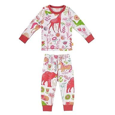 Amazon.com  Masala Baby Toddler Kids Organic Baby Pjs Long Sleeve ... 3678b4693