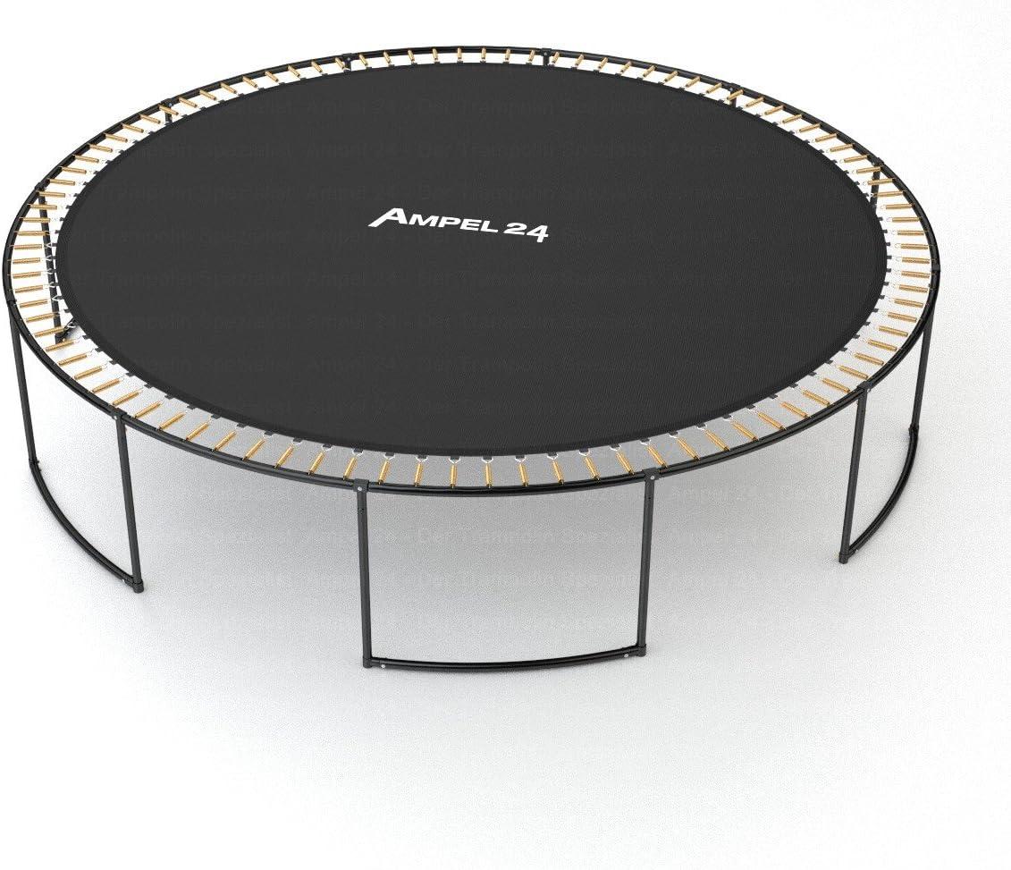 Lona de Salto de reemplazo para Cama el/ástica con diametro de 366 cm Resistente Carga MAX 160kg 72 Ojales Ampel 24 Costura d/écupla
