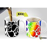 amazon com personalized coffee mugs 11oz magic mug kitchen dining