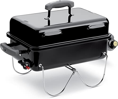 Weber 1141001 Go-Anywhere Gas Grill, ONE Size, Black