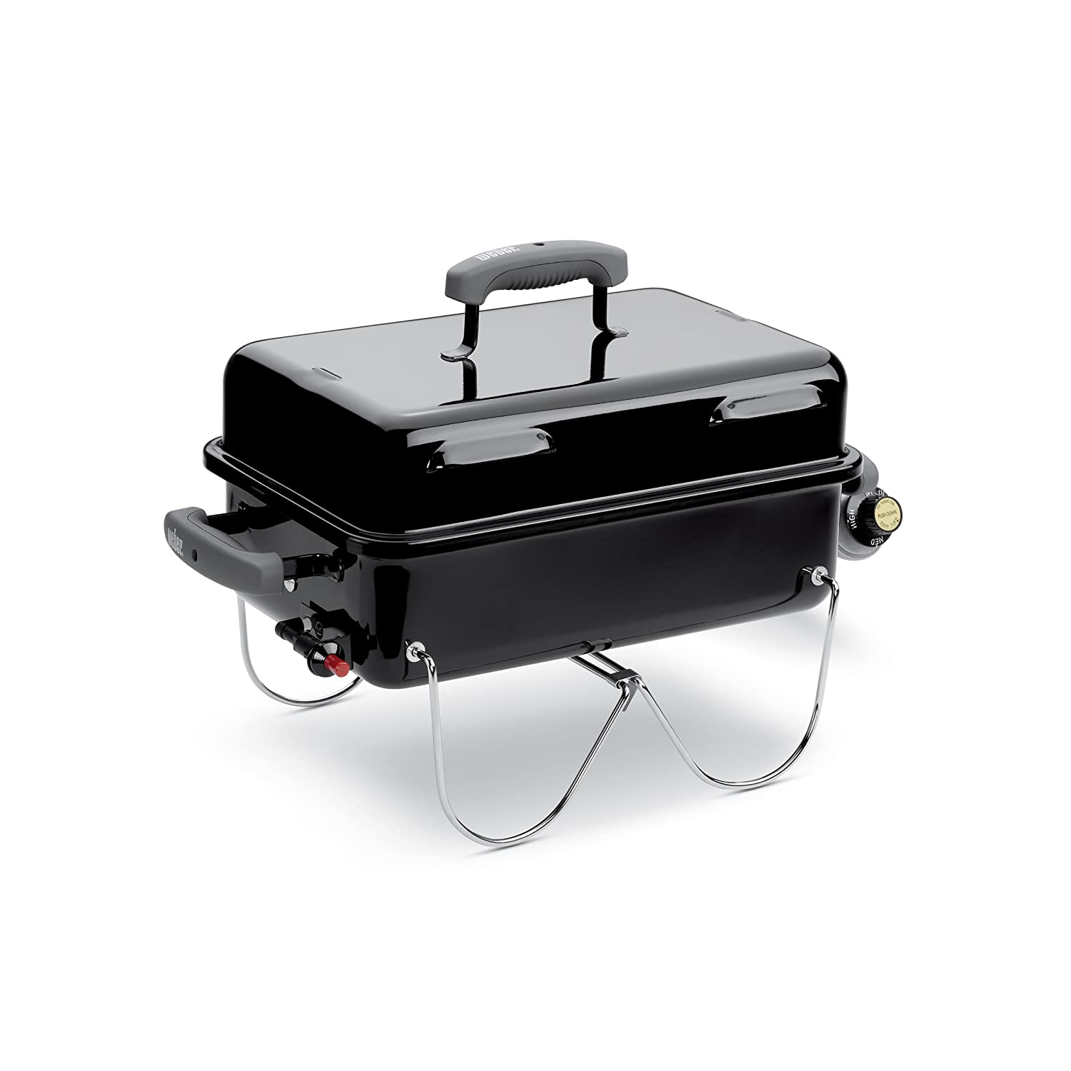 Weber Portable Gas Bbq.Weber 1141001 Go Anywhere Gas Grill One Size Black
