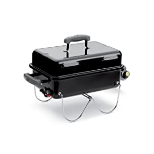 Weber 1141001 Go Anywhere Gas Grill, ONE SIZE Black