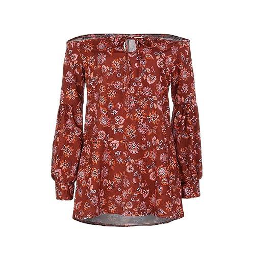 Momola - Camisas - Casual - Floral - para mujer