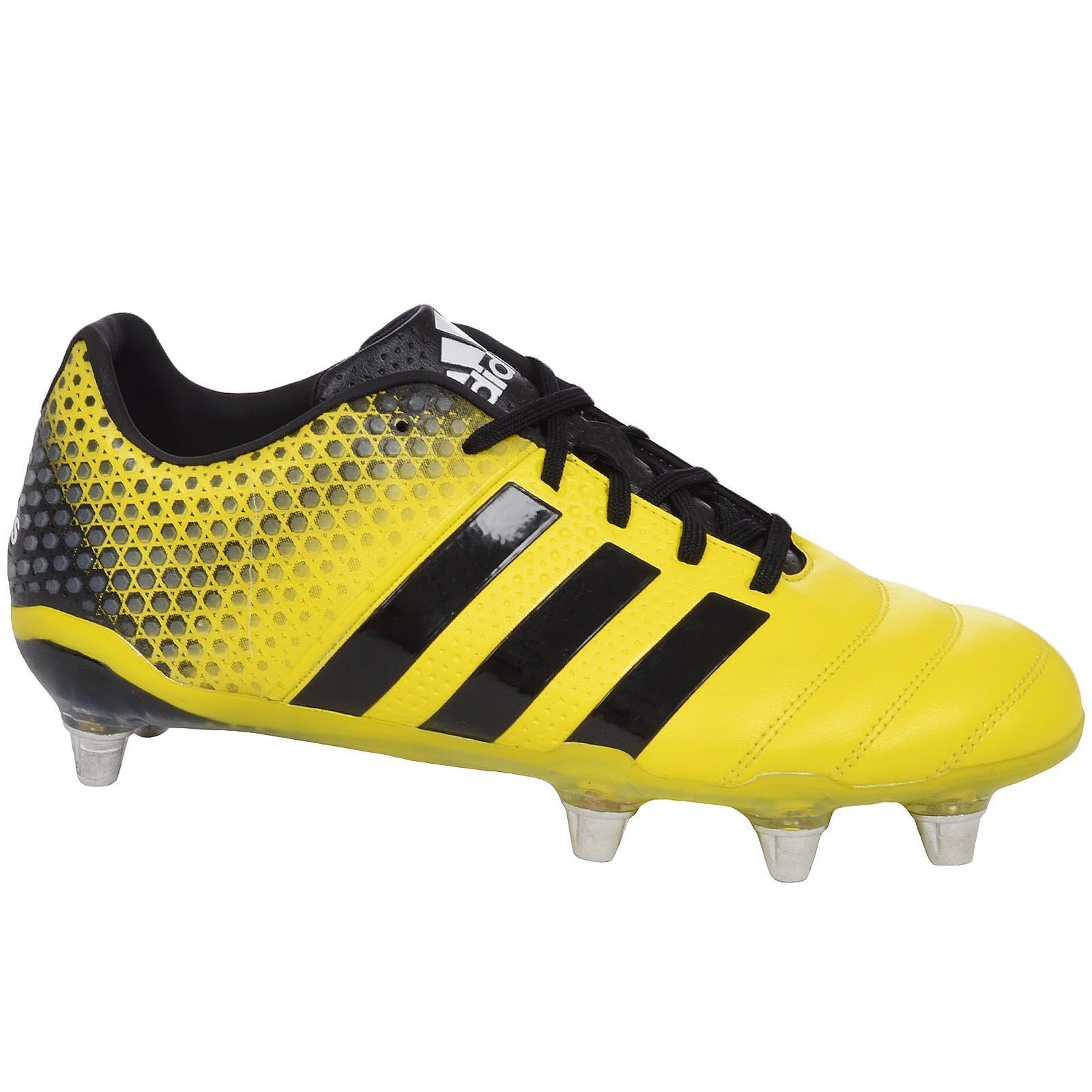 adidas Adipower Kakari 3.0 SG Mens Rugby Boots-Yellow-8.5 by adidas