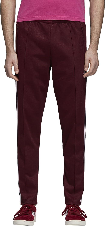 adidas Originals Men's Franz Beckenbauer Trackpants, Maroon