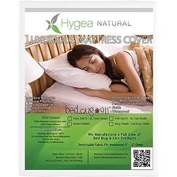 Amazon Com Hygea Natural Mattress Cover Or Box Spring