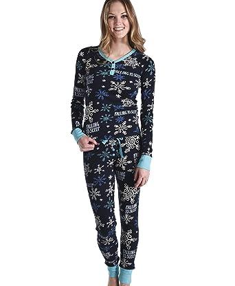 Falling to Sleep Women s Thermeez Thermal Animal Pajama Set Set by LazyOne   270fafbab