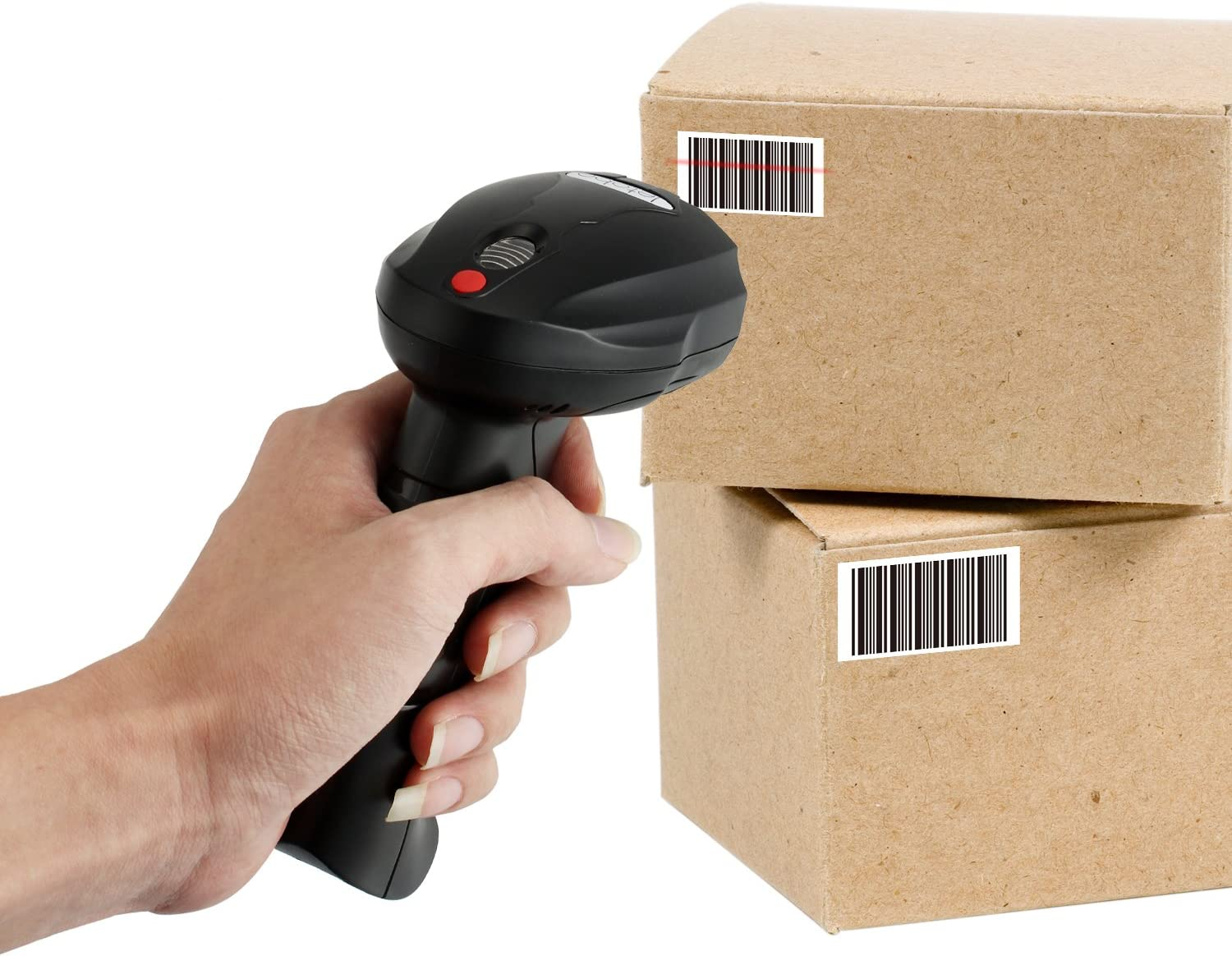 letobe Wireless Barcode Scanner Tags Reader USB Memory Adapter Inventory System 3rd Party Software