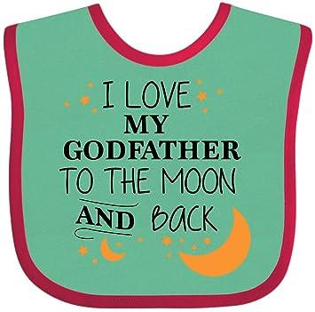 Baby Bandana Bib I love my Grandma to the Moon and Back cute