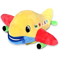 Buckle Toy - Bolt Airplane - Identify Shapes and Colors - Develop Fine Motor Skills - Storage for Small Items