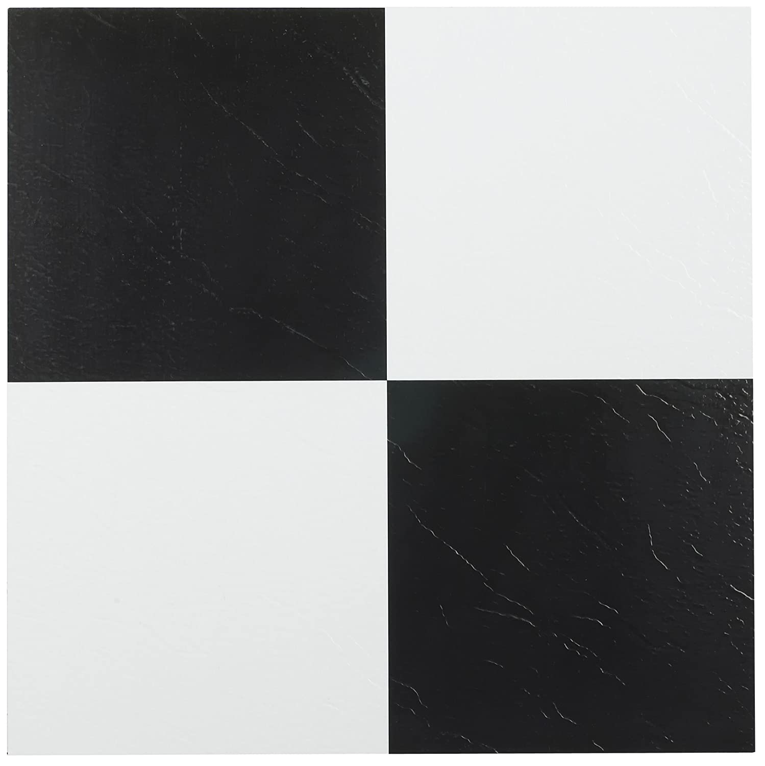Black And White Tiles Achim Home Furnishings Ftvso10320 Nexus 12 Inch Vinyl Tile Solid