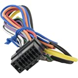Amazon Alpine Car Stereo Radio Wire Harness Plug Full 16 Pin. Alpine Cde141 Cde143bt Cde147bt Cdehd148bt Cdehd149bt. Wiring. Alpine Cde 143bt Wiring Diagram Xj At Scoala.co