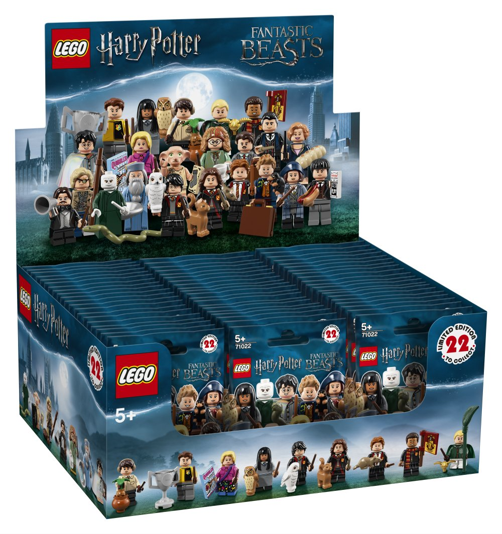 Lego 71022 Harry Potter Minifiguren Display Box Box Box Mit 60 Tüten ad32de