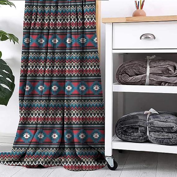 Amazon.com: LsWOW - Manta de muselina, diseño de bordes ...
