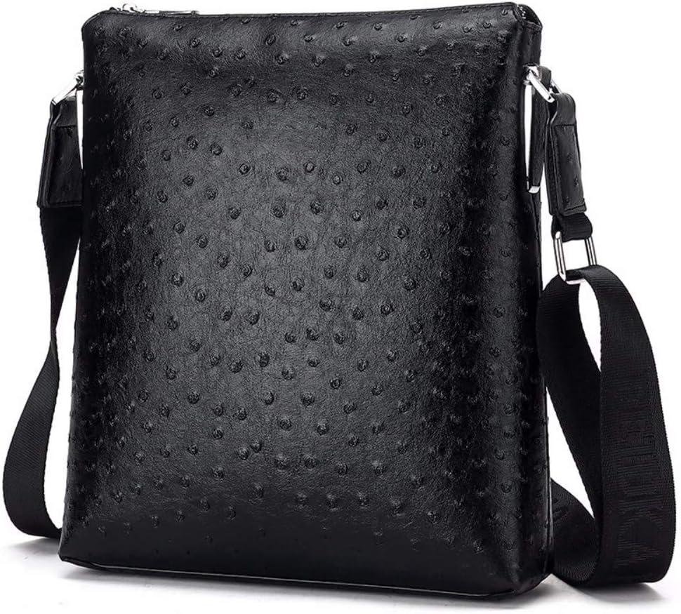 NDFSE-Herrentaschen Mens Business Bag Single Shoulder Inclined Bag Embossed Vertical Backpack,D