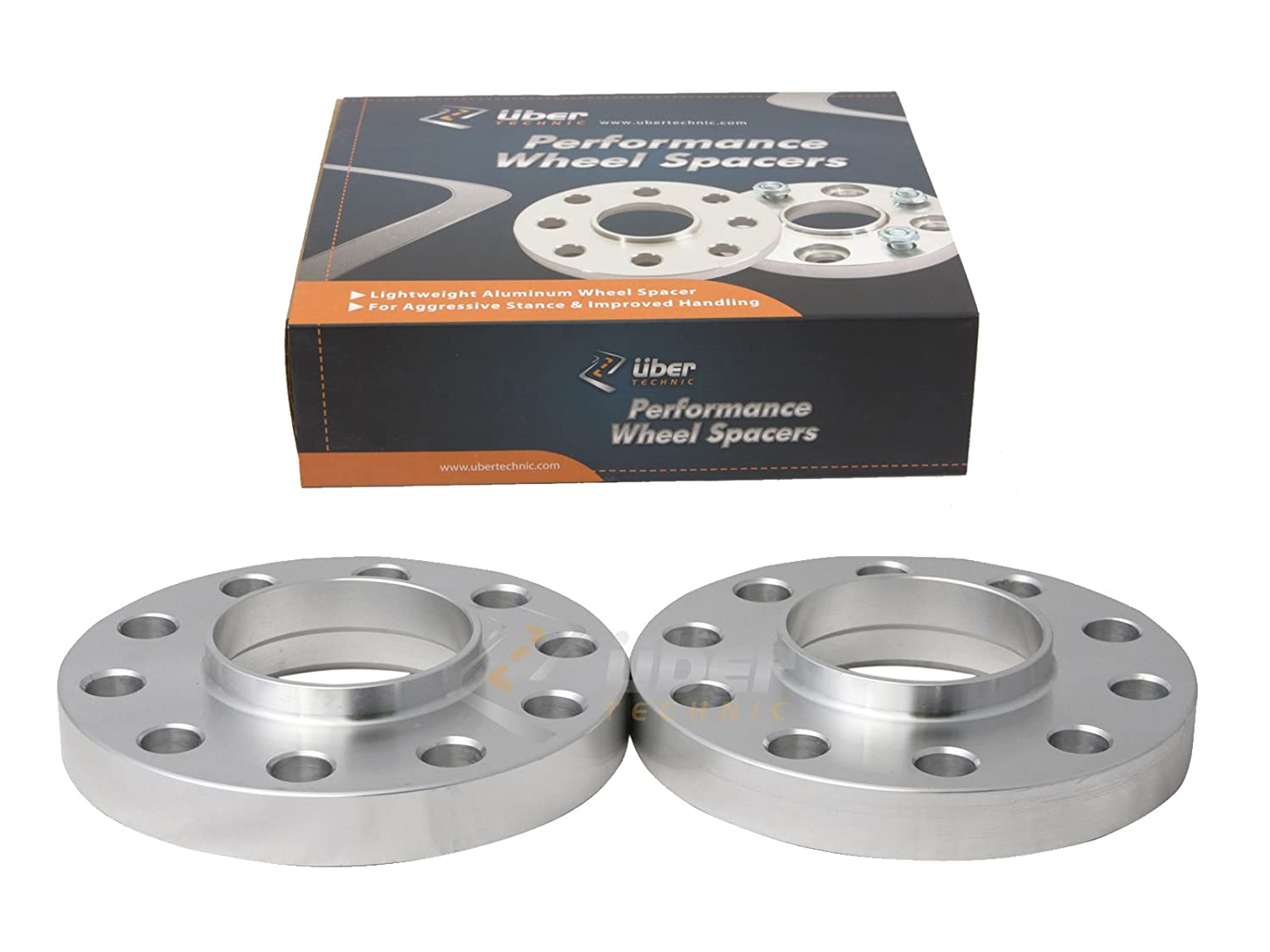 (2) 20mm (3/4') 5x120 Hubcentric Wheel Spacers (72.6/72.56 Bore) for many BMW Vehicles: 318i 320i 325i 328i 335i M3 428i 435i M4 525i 528i 530i 535i M5 Z3 Z4 640i 645ci E36 UberTechnic Precision European Motorwerks