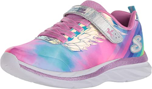 Skechers Girls/'   Quick Kicks Alicorn Wings Sneaker