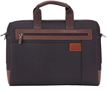 8b64e3218 Amazon.com: Banuce RTXCXBM032-BK Men's Waterproof PU Leather Briefcase  Shoulder Bags Attaches 14