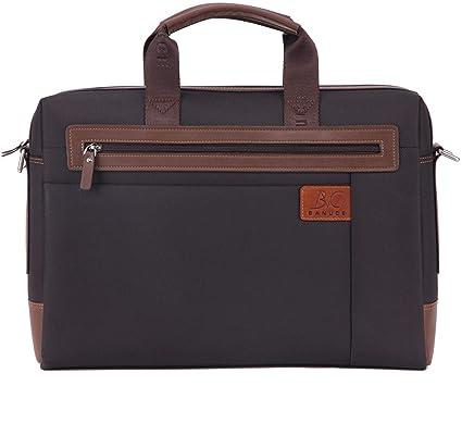 e986c5232f09 Banuce RTXCXBM032-BK Men's Waterproof PU Leather Briefcase Shoulder Bags  Attaches 14