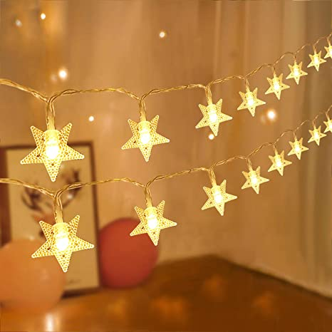 Battery Operated String Fairy Lights Wedding Christmas Birthday Party LED Warm
