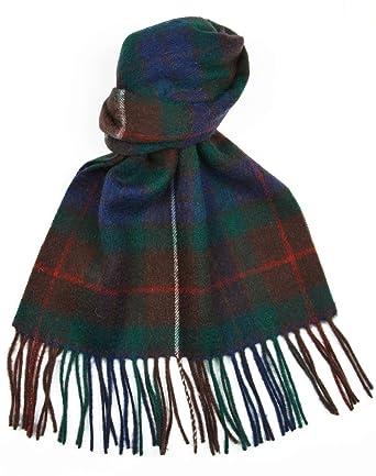 Macdonald Sporrans Écharpe en laine d agneau Clan Fraser Hunting Motif  tartan moderne 7a426e38a29