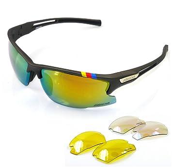 farrova – ax515 deportes gafas de sol con juego de 3 lentes intercambiables (principal las