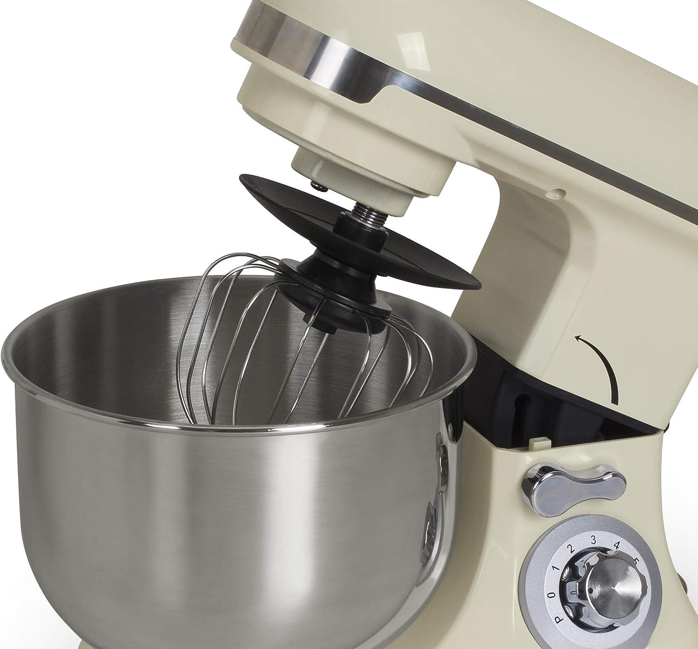 bkitchen Mix 600 - Robot de Cocina (600 W, 6 Niveles de Potencia y Accesorios), Color Blanco: Amazon.es: Electrónica