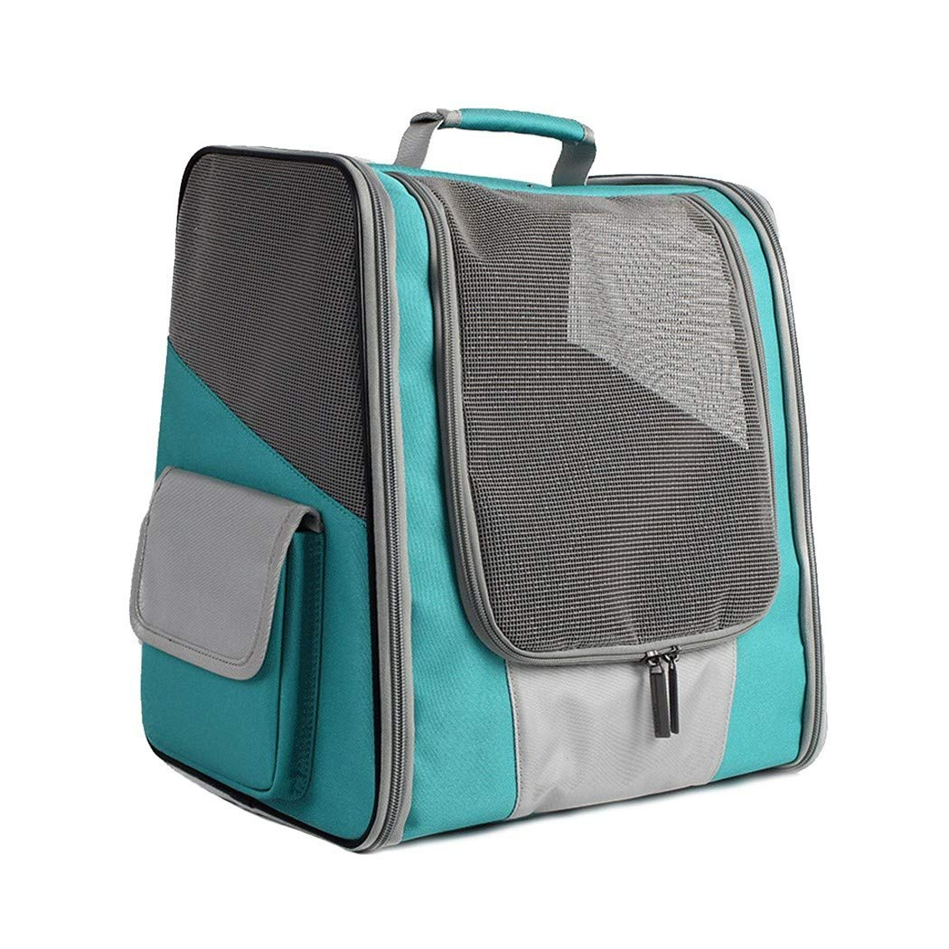 bluee Puppy Dogs Cats Travel Bag,Mesh Breathable for Small Puppy Dogs Cats Travel Bag Can be Connected with Car Seat Belt