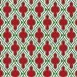 Jillson Roberts Christmas Printed Tissue, Christmas Arabesque, 24 Sheet-Count (XPT632)
