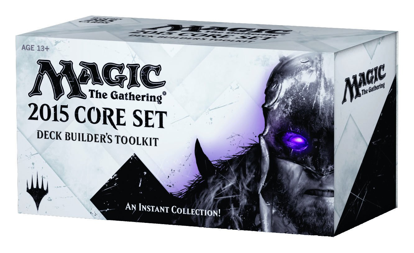 Amazon: Magic The Gathering 2015 Core Set Deck Builder's Toolkit: Toys  & Games