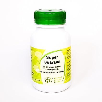 GHF - GHF Guaraná 120 comprimidos 600 mgrs
