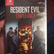 Resident Evil Triple Pack for Nintendo Switch [USA]: Amazon.es ...