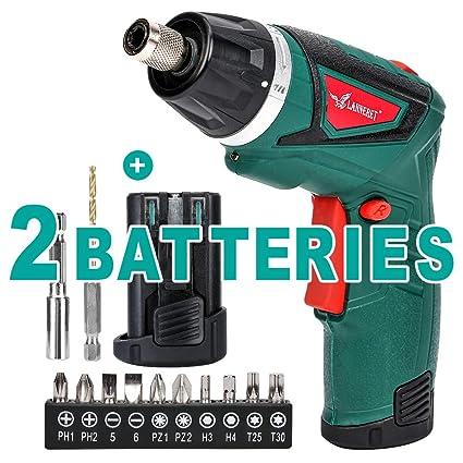 Amazon.com: LANNERET - Destornillador eléctrico inalámbrico ...