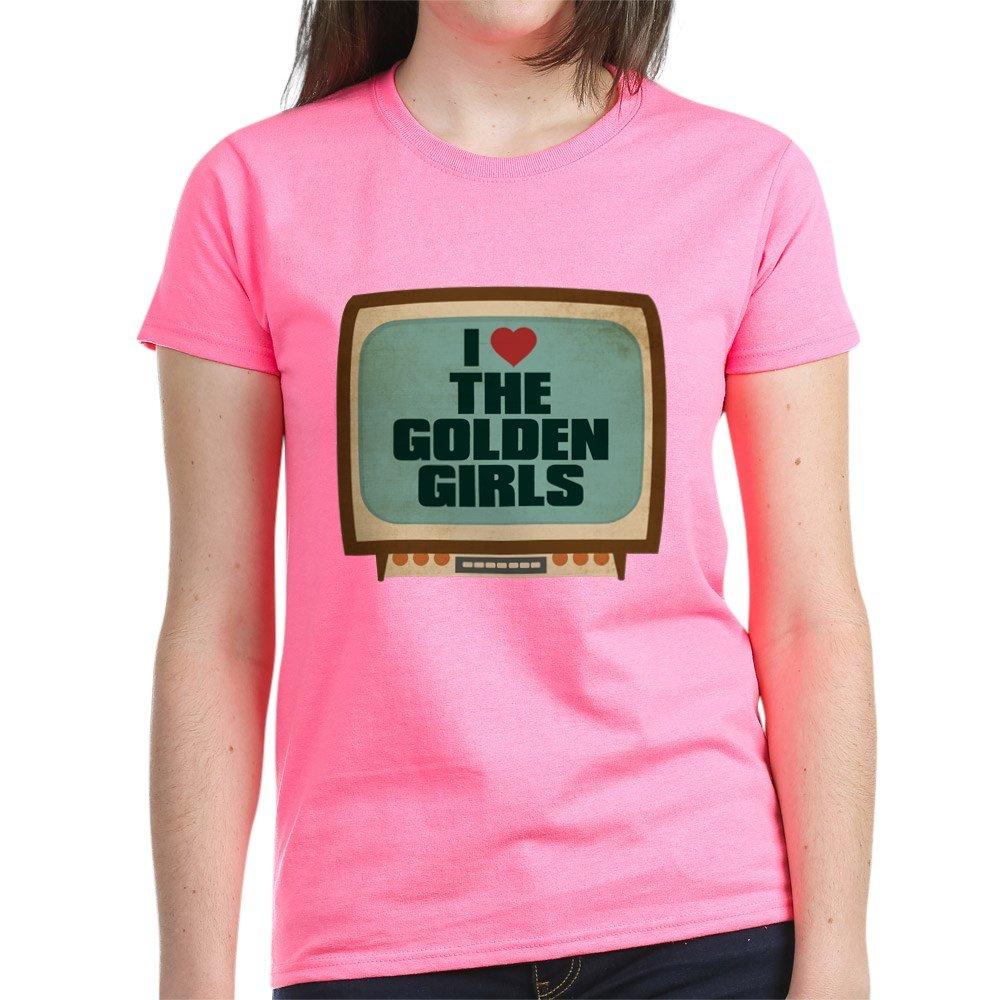 Retro I Heart The Golden Girls T Shirt 5175