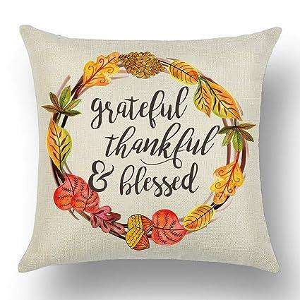 Amazon.com: WePurchase Happy Autumn Fall Yall - Funda de ...