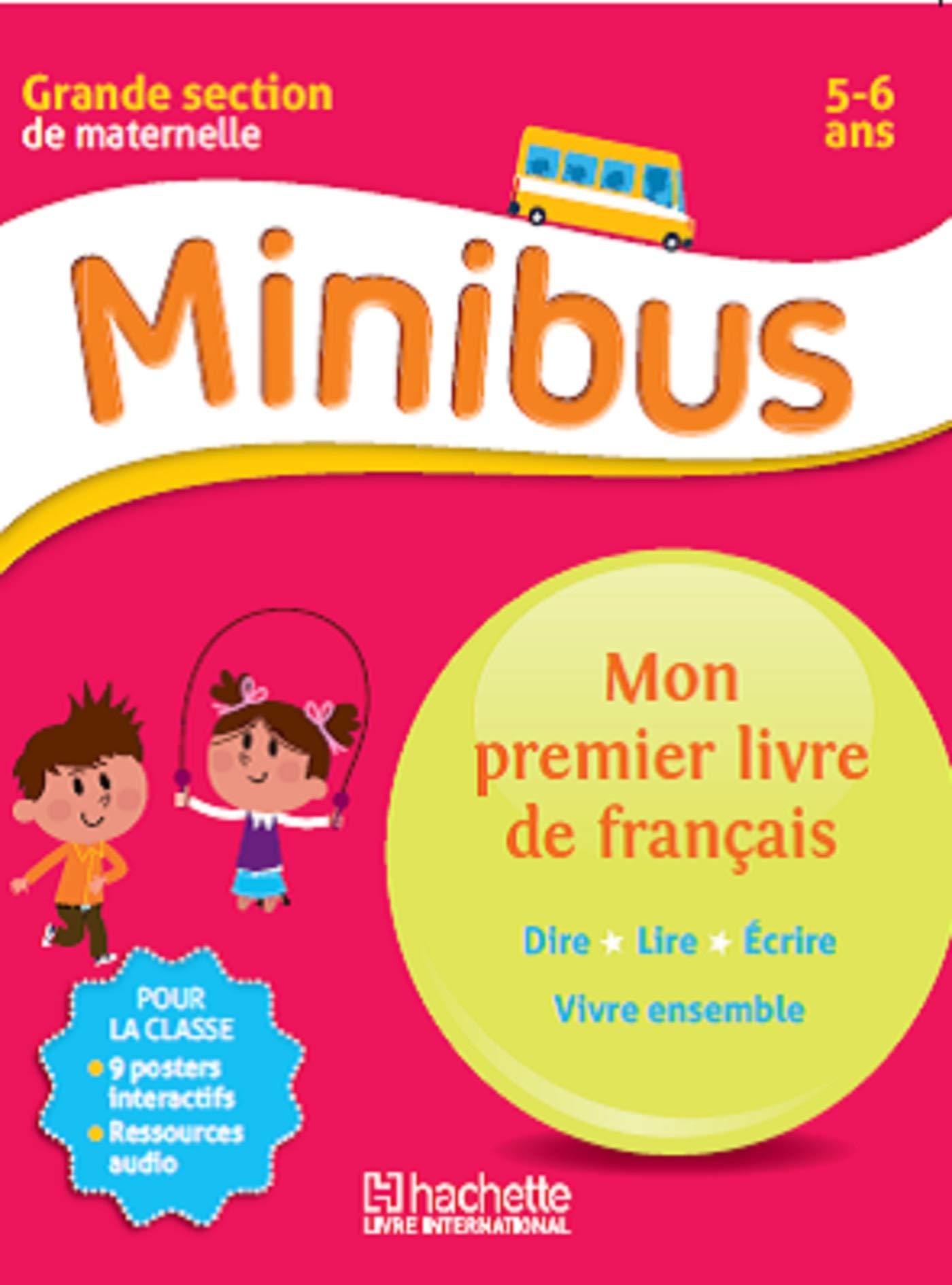 Amazon Fr Minibus Mon Premier Livre De Francais Gs Langue