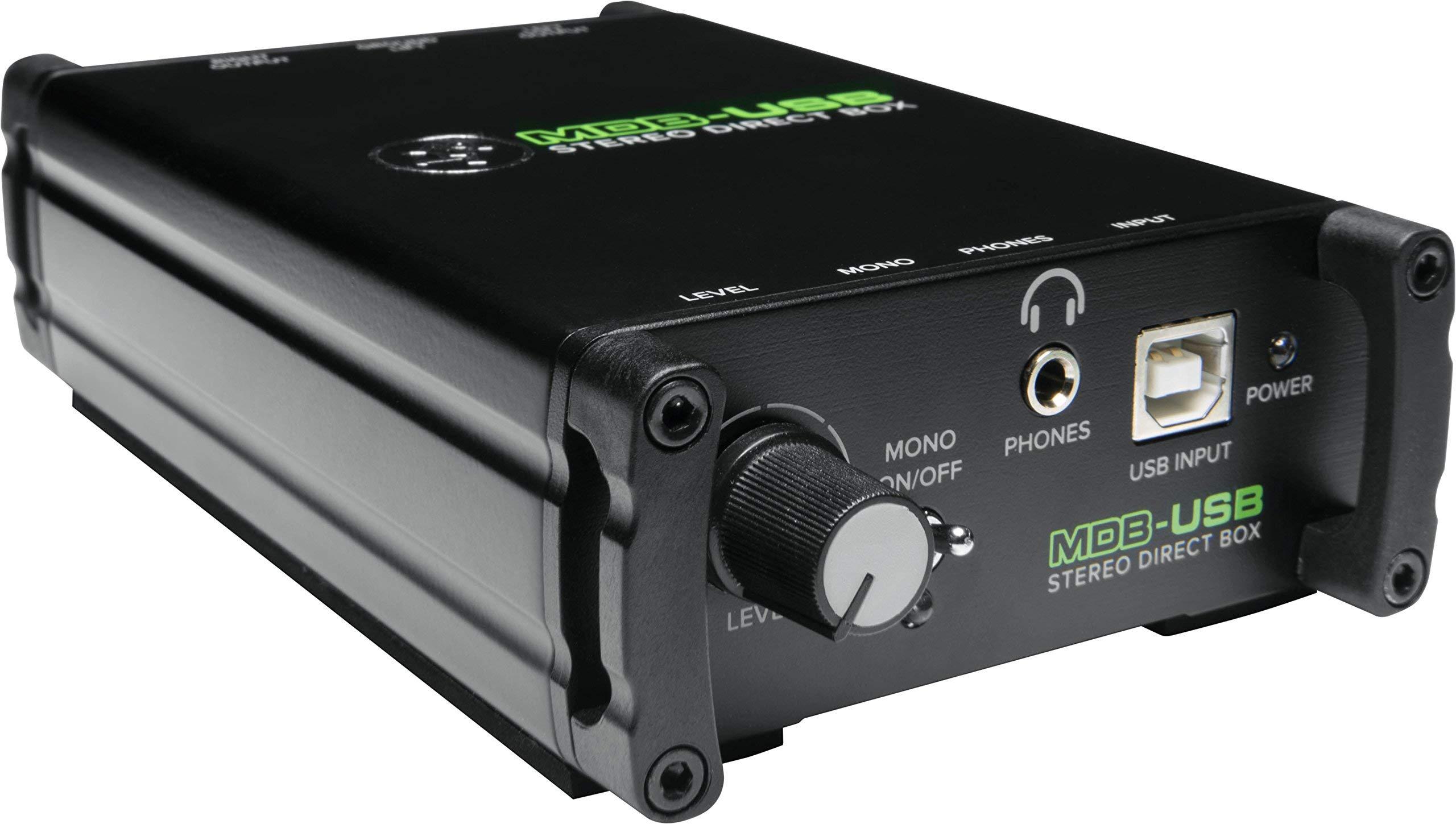 Mackie Signal Direct Box MDB-USB (Renewed)