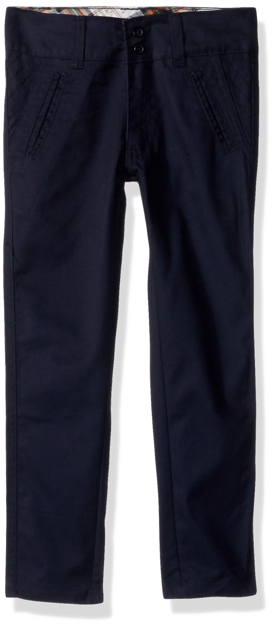 Eddie Bauer Little Girls' Twill Pant (More Styles Available), Navy-PQHK, 5