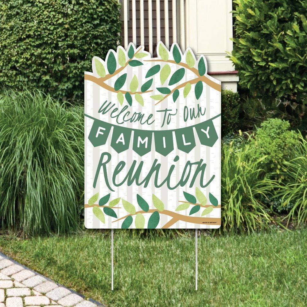 Amazon.com: Big Dot of Happiness - Letrero de bienvenida ...