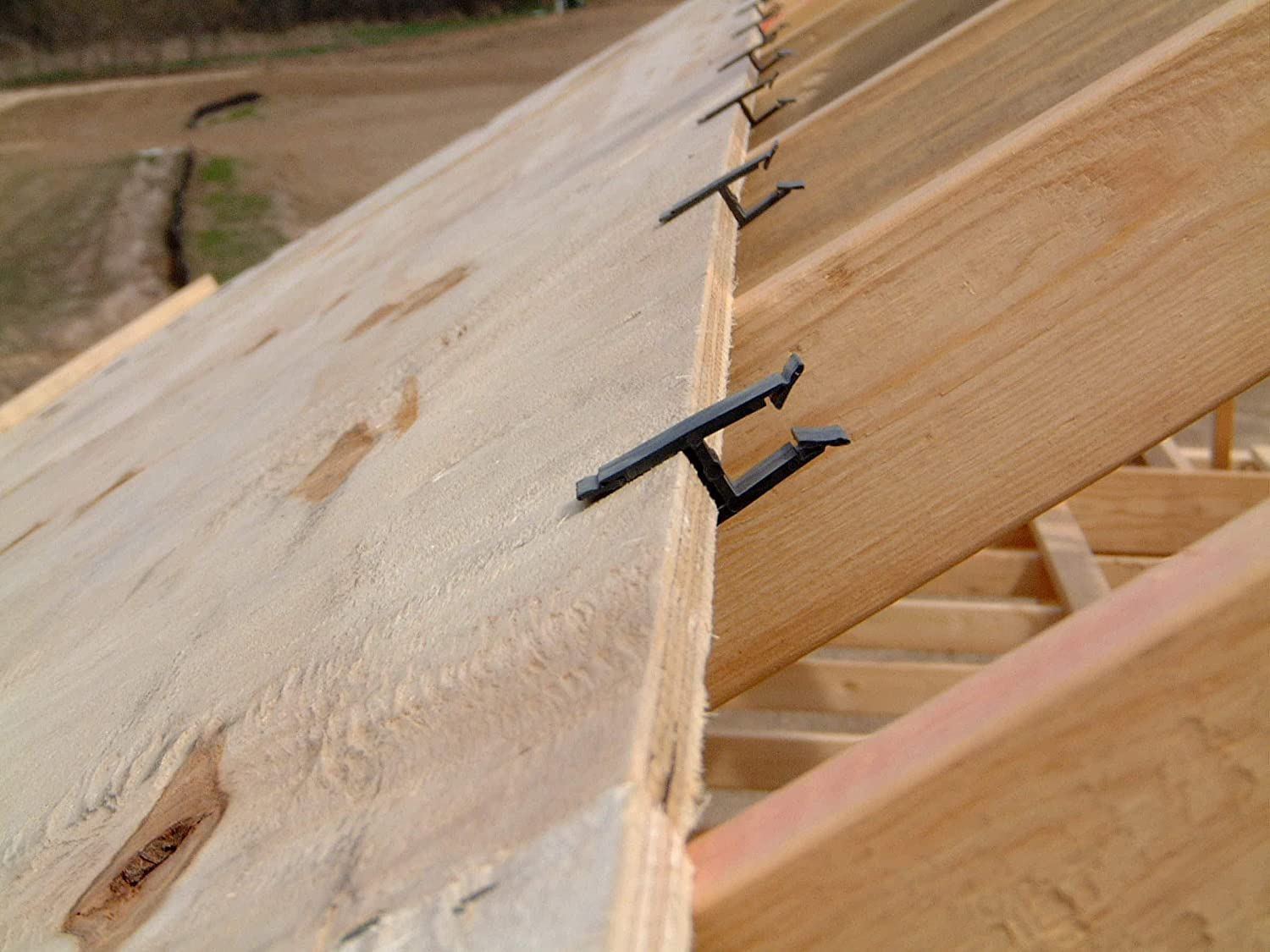250 BAG M /& O Products 101384 GRIP H CLIP 19//32 5//8 Plywood H Clip Roof Sheathing for Faster Safer No Hassle Roofing