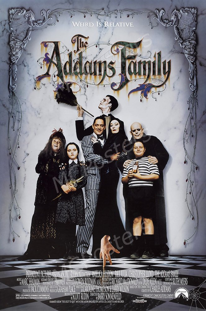 "MCPosters Addams Family GLOSSY FINISH Movie Poster - MCP101 (24"" x 36"" (61cm x 91.5cm))"