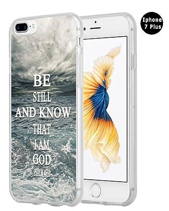 Amazon.com: Hungo funda para iPhone 7Plus con versos ...