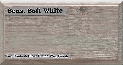 Tinte para madera a base de agua de Littlefairs, respetuoso con el medio ambiente, Blanco suave sensual., 5ltr