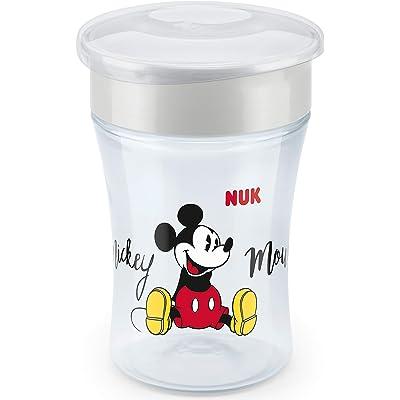 NUK Disney Magic Cup vaso antiderrame bebé, borde antiderrame de 360 °, 8+ meses, sin-BPA, 230 ml, Mickey Mouse, 1 cuenta