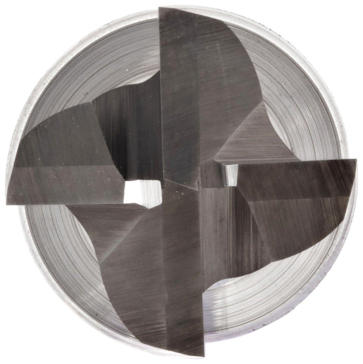 30 Deg Helix 6 Flutes Non-Center Cutting TiCN Monolayer Finish 1.5000 Cutting Diameter 4.5000 Overall Length 1.25 Shank Diameter Melin Tool CRP Cobalt Steel Square Nose End Mill Weldon Shank Roughing Cut