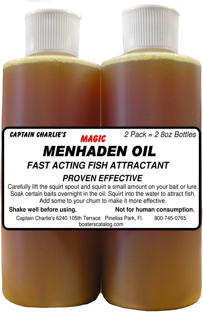 CAPTAIN CHARLIE'S MAGIC MENHADEN OIL 2-PAK Fish CHUM