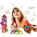 62 PCS Magnetic Blocks- Magnetic Building Blocks