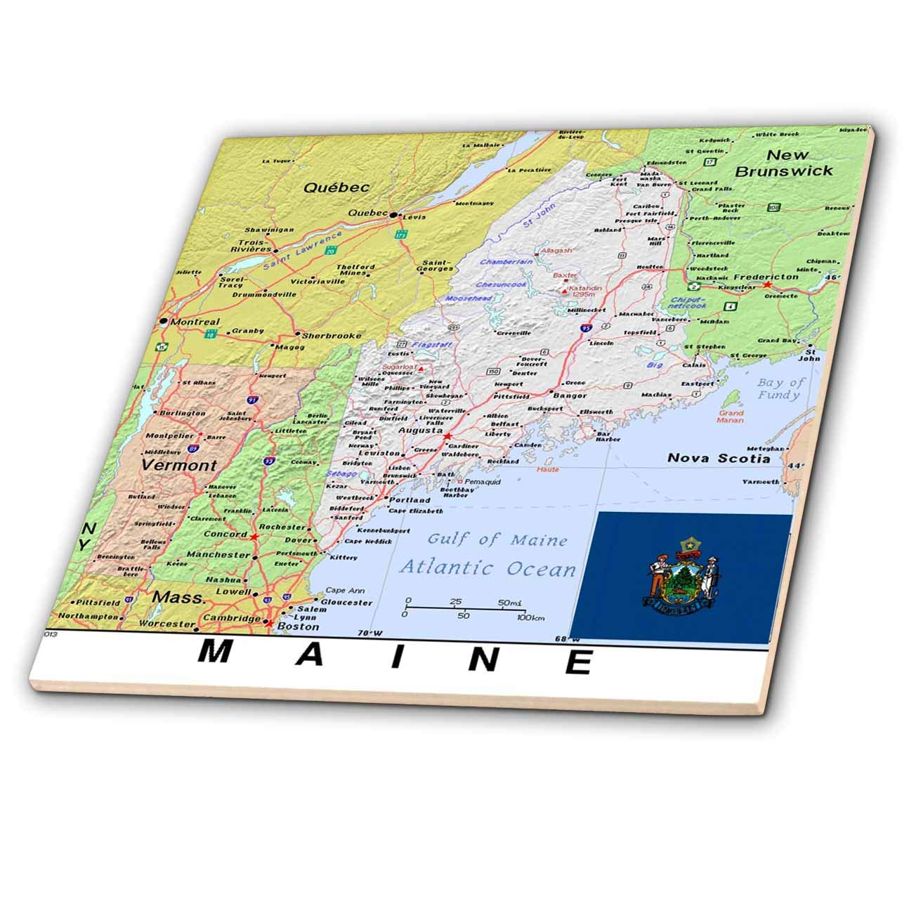 Amazon.com: 3dRose Lens Art by Florene - Topo Maps, Flags of ... on maine mountains, maine demographic map, maine gps map, maine state population map, maine zoning map, maine campus map, maine and surrounding states, maine geologic map, maine utility map, maine penobscot bay island map, maine land cover map, moose in maine map, south coast of maine map, maine dirigo high school, maine physical map, maine property map, maine elevation map, maine vegetation map, maine relief map, swift river maine gold map,