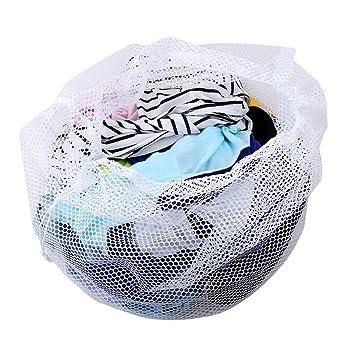 gluckliy Saco de ropa para lavadora Red Funda Premium para lencería, BH, Medias,